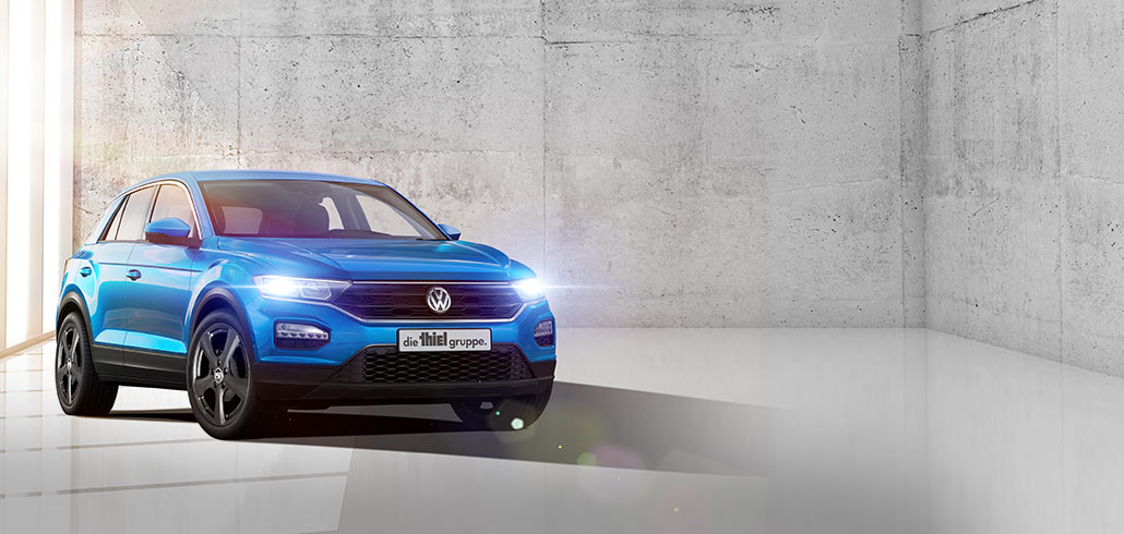 "Der neue T-Roc ""thiel colour edition""."